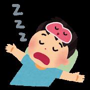 ノンレム睡眠のイラスト